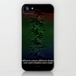 New Dawn Fades iPhone Case