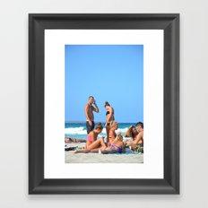 Formenteraa Framed Art Print