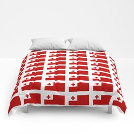 Flag of Tonga -Tonga,Tongatapu,Nukuʻalofa,Tongan,pa'anga,Vava'u, Ha'apai, Tongatapu. Comforters