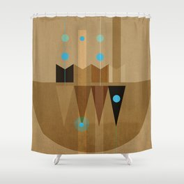 Geometric/Abstract 10 Shower Curtain