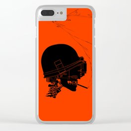 Agent Orange Clear iPhone Case