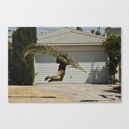 Palm Bag Canvas Print