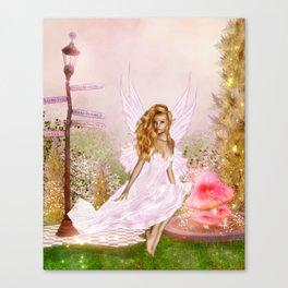 Pink Opal Canvas Print