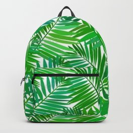 green leafs cool modern home trends Backpack