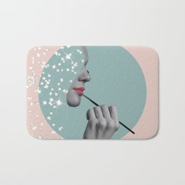 Her Beauty Shines from Within Bath Mat