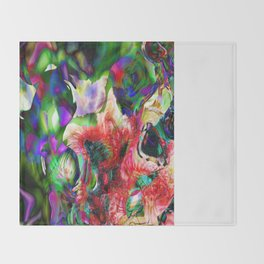 Psychedelic Persuasion Throw Blanket