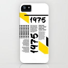 1975 I LIKE AMERICA iPhone Case