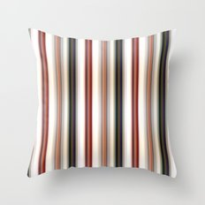 Vertical Lines Throw Pillow