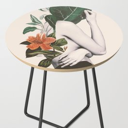 natural beauty-collage 2 Side Table