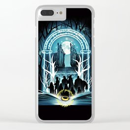 Magic Ring Clear iPhone Case