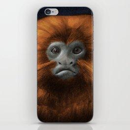 Golden Lion Tamarin iPhone Skin