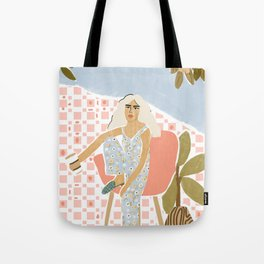 Coffee a day keeps the stress away Tote Bag