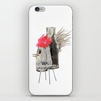 rooster iPhone & iPod Skins featuring Rooster by Imanol Buisan