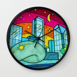 Cloud Gate in Chicago, Illinois Wall Clock