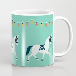 Arabian Horse Parade - Mint Coffee Mug