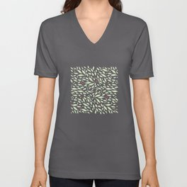 Leaves and Berries Unisex V-Neck