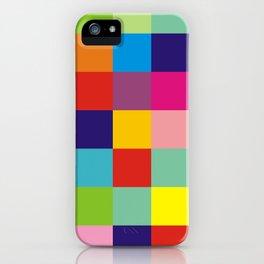 Color block no.1 iPhone Case
