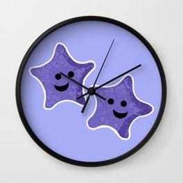 Starfish Friends Wall Clock