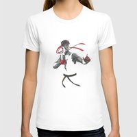 street fighter T-shirts featuring Ryu Street Fighter by Papan Seniman
