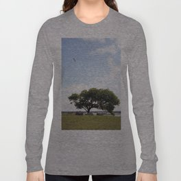 The tree at Exit 6 Long Sleeve T-shirt