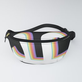 Funny Pi Day Vintage Nerd Geek Pie 3.14 Math Lover Fanny Pack