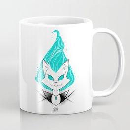 ScribbleNetty (Turquoise) Coffee Mug