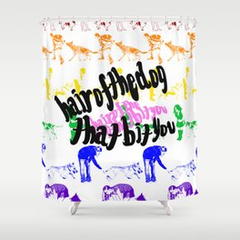 Hair of the Dog Shower Curtain