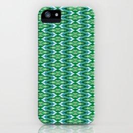 Glitch Pattern 2 iPhone Case