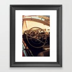 Dice + Drive Framed Art Print