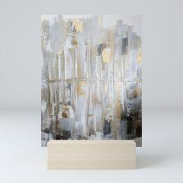 Metallic Abstract Mini Art Print