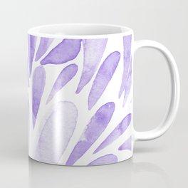 Watercolor artistic drops - lilac Coffee Mug