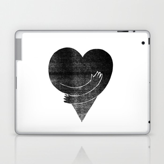 Illustrations / Love Laptop & iPad Skin