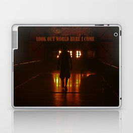 Look out World here I come Laptop & iPad Skin