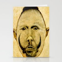 tribal Stationery Cards featuring tribal  by Joe Ganech