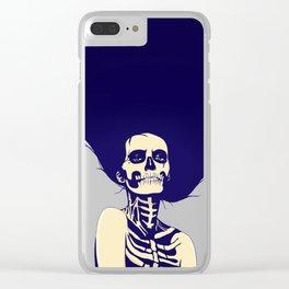 Día de las Muertas Clear iPhone Case
