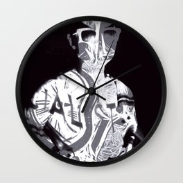 """Timeless Emptiness"" By Nacho Dung. Wall Clock"