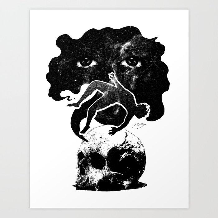 I AM INFINITE Art Print