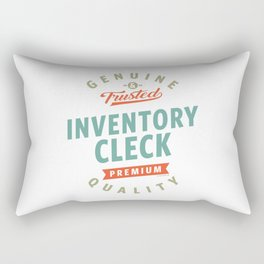 Inventory Clerk Rectangular Pillow