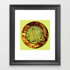 Pasta + Beans Framed Art Print