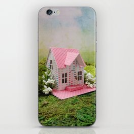 Pink Cottage iPhone Skin