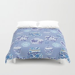 Chinoiserie Ginger Jar Collection No.6 Duvet Cover