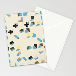 Abstract Geometric Artwork 75 Stationery Cards