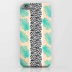 Palm Leaf Abstract Slim Case iPhone 6