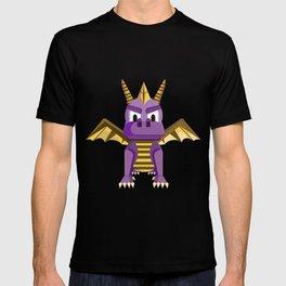 Spyro vector character fanart T-shirt