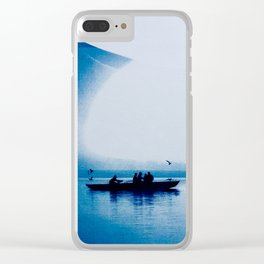 Indian Sunset- By Mindia Clear iPhone Case