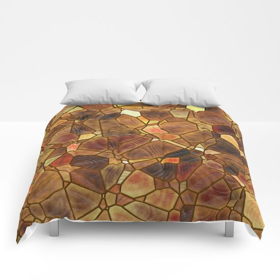 Stained Glass - Copper Comforters