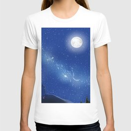 Eeyore-A Lonely Night T-shirt