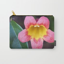 Tangerine Beauty Cross Vine Carry-All Pouch
