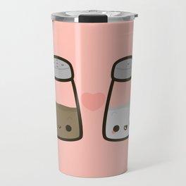 Cute salt and pepper Travel Mug