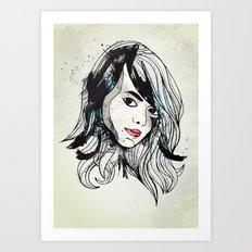 Leathers Art Print